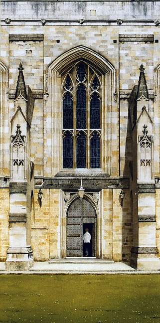 Winchester Cathedral - Watercolour Painting by Surrey Artist Noël Haring - General Art Gallery